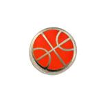 Basketball - Enamel Charm